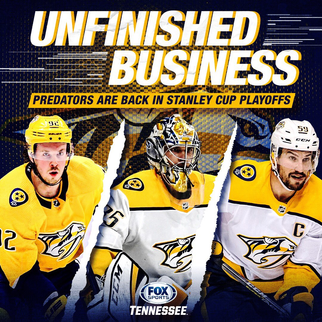.@PredsNHL punched their 🎟️ to the Stanley Cup Playoffs.  #Preds