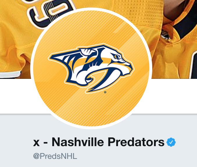 x - Nashville Predators ( PredsNHL)  e2bc905ee