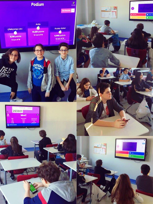 Our 7th grades revised Relative clauses by playing Kahoot in their lessons. 📲 #21stcenturyeducation @GetKahoot @BK_Luleburgaz @altan_azaplar @DuyguPeran @eypaksar