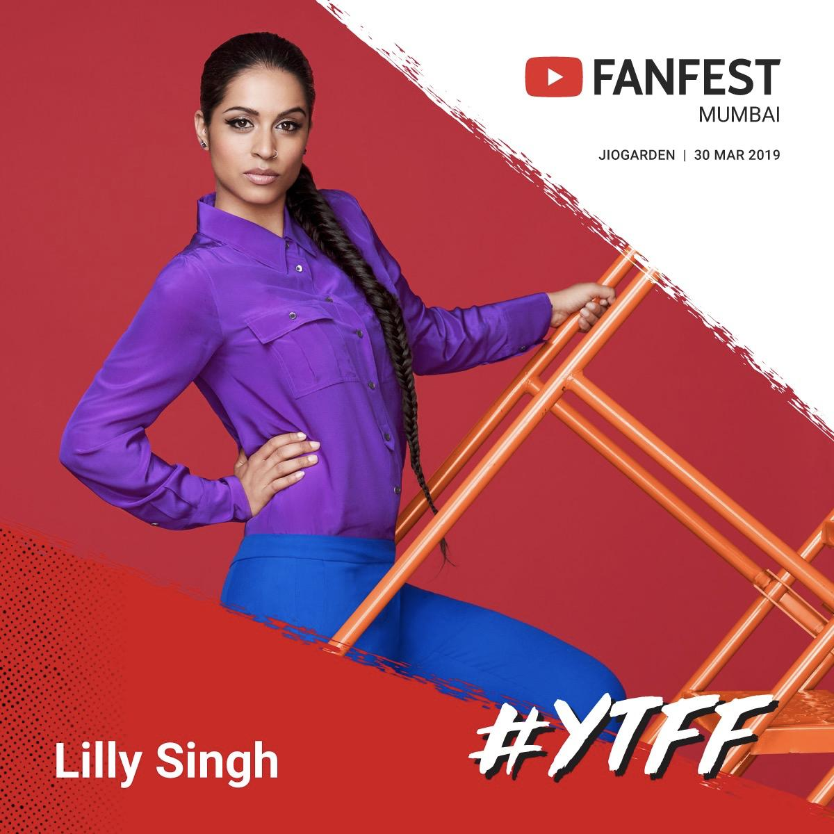 Lilly Singh's photo on #LillyInIndia