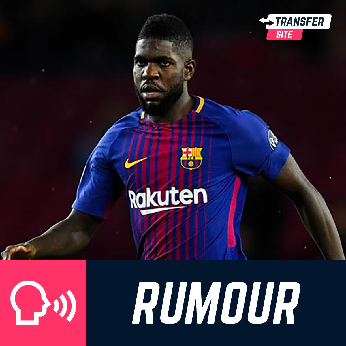 Barcelona will consider selling Samuel Umtiti to Manchester United this summer, despite the France defender wanting to stay at the La Liga club - (via Mail)  #TransferNews #MUFC