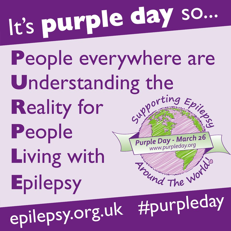 Epilepsy Action's photo on #purpleday