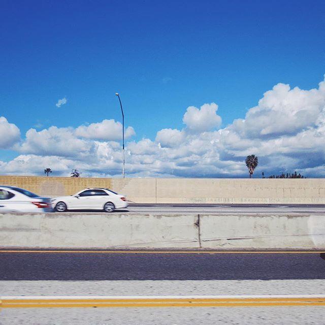 The great divide. #urbanlandscape #freeway #clouds #minimal #losangeles #torrance #mydayinla #myamericanvision #thisaintartschool #onassignment #rentalmag #jbdsgnd | Torrance, CA 03.19