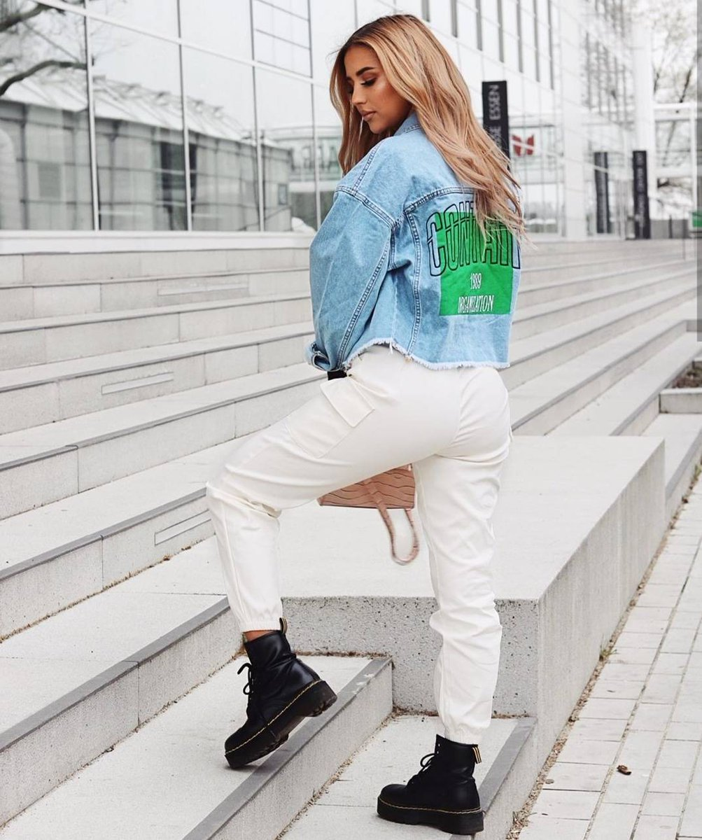 Image for Tuesday's VIBE 💙  Girl @Sofia.rodt styles the Kelsie Cargo Pants 😍  Shop 👉🏽 https://t.co/5y08kiUfWH #ikrushbabe https://t.co/bVOw325DtX