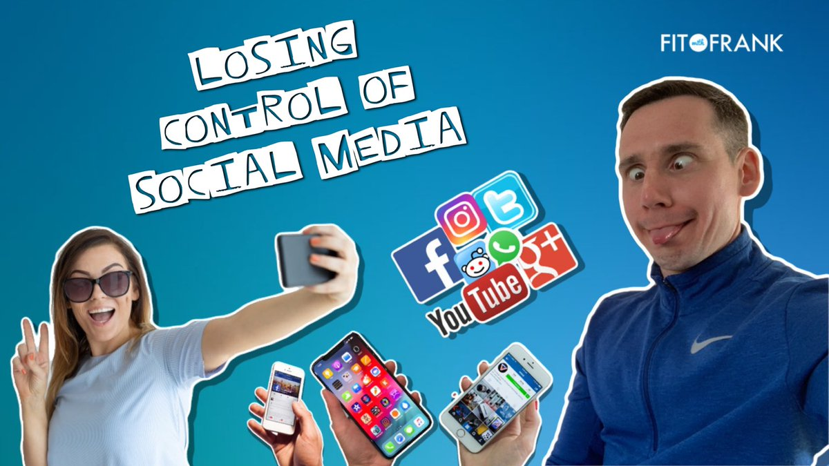 Podcast #018 - Have You Lost Control With Social Media? 📱🤯🤳🏻   I had....  LISTEN NOW 👉🏻 http://bit.ly/FWF-iTunes  #podcast #socialmedia #fitwithfrank