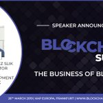Image for the Tweet beginning: Today we're at the @BlockchainHQ