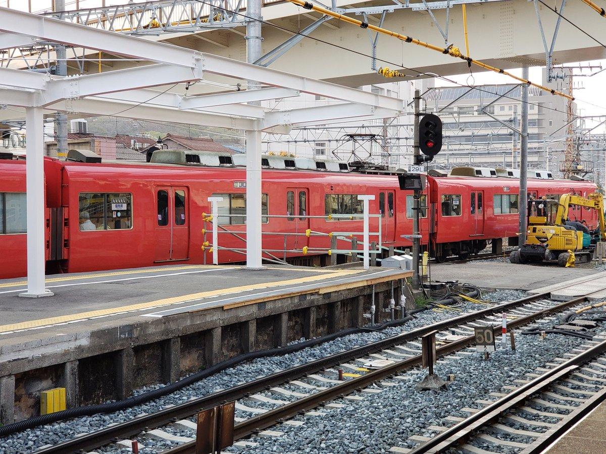 名鉄名古屋本線の呼続駅~桜駅間で人身事故の現場画像