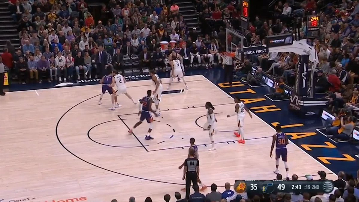 🏀🔥 Devin @DevinBook erupts for 59 points but can't prevent @Suns from falling to heavy loss to @utahjazz #nba #timetorise #teamiseverything   📲 WATCH - http://skysports.tv/wuIrcb