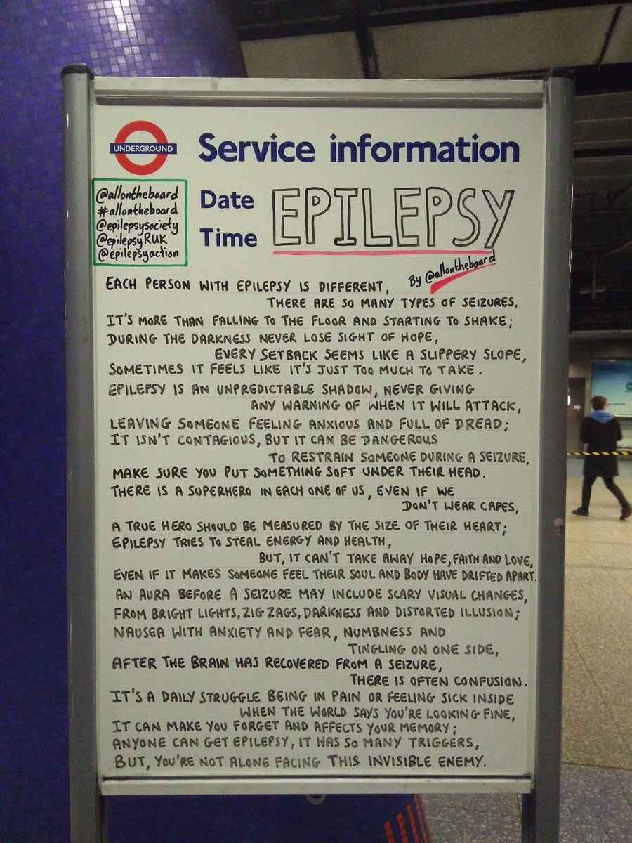 All on the board's photo on #EpilepsyAwareness
