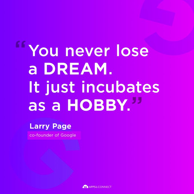 Happy Birthday to Larry Page, Co-Founder of Google.