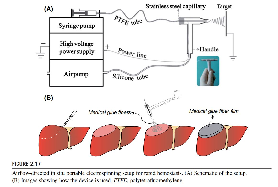 QingziNano Airflow-directed In Situ Portable Electrospinning Setup