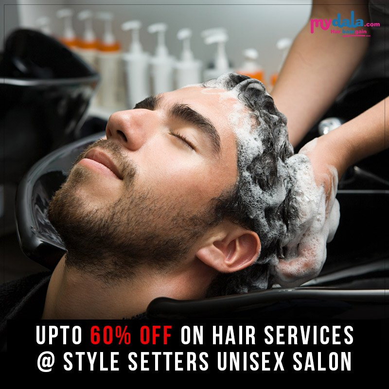 Make Your Hair Perfect. Style Setters Unisex Salon provides a special offer for you on hair services. #offer #special #hair #salon #deals #men #women #hairstyles  Book Now: https://t.co/AsmCUQJOcL https://t.co/0IGfa7SDAq