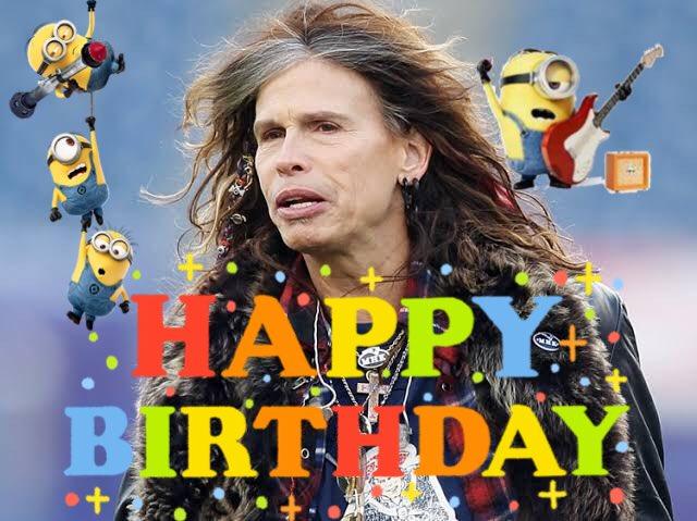Happy Birthday ( ´  ) Steven Tyler