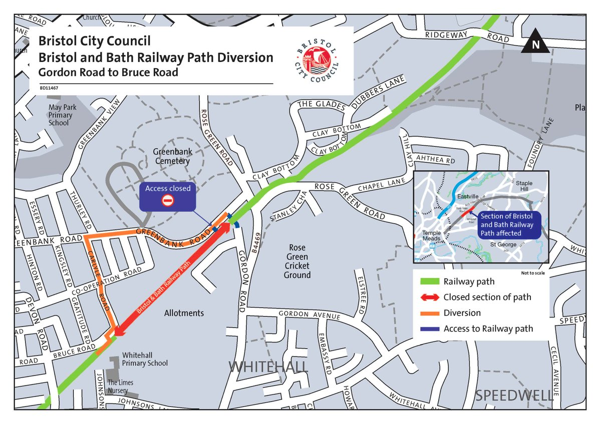 test Twitter Media - The second phase of essential improvement work on the Bristol and Bath Railway Path will start on 8 April 2019 and last for two weeks. Read more: https://t.co/KFKpJugSXM https://t.co/83BJTXQYyq