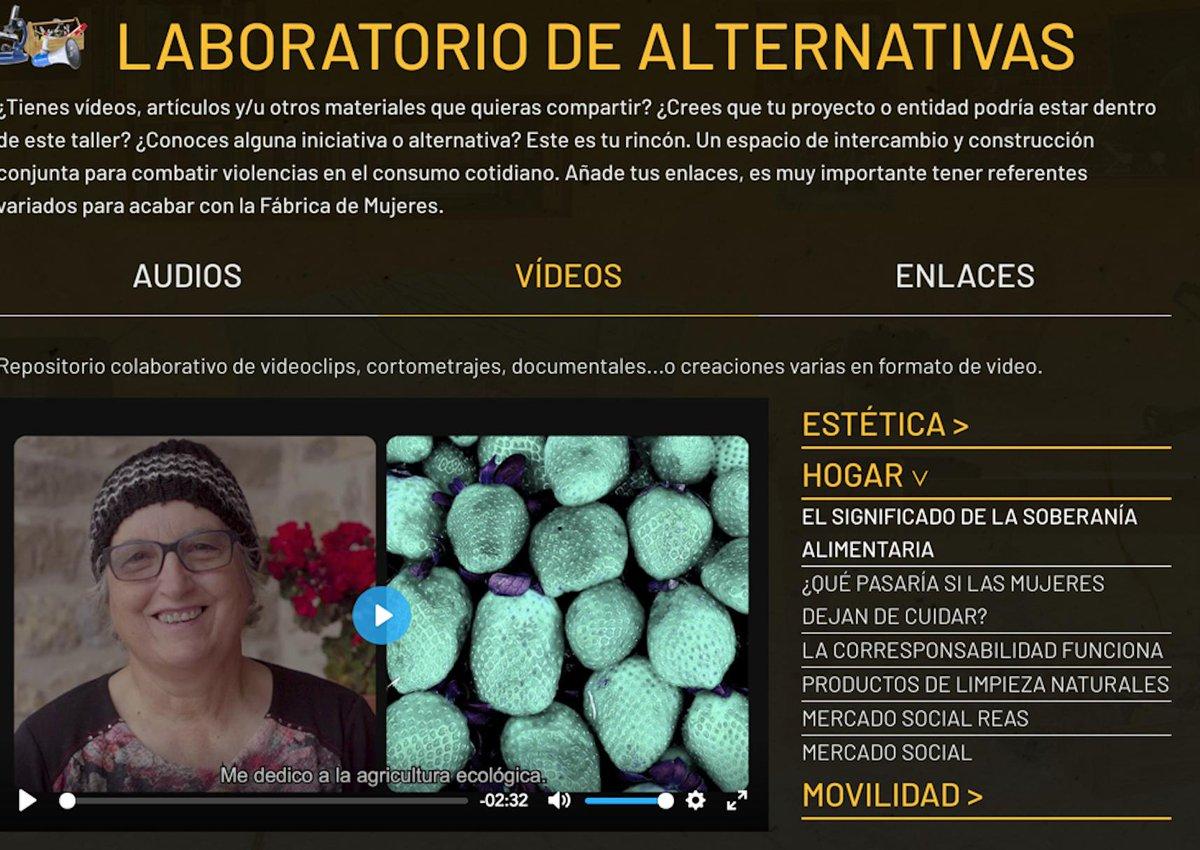 🔊¡Vamos al taller de Maite a construir alternativas que erradiquen las violencias machistas en el consumo! http://ow.ly/OlFq30o1Ezf  http://fabricandomujeres.org/es/taller/ #webdoc #fabricandomujeres #SETEM #consumimosviolencia #feminismoa #feminism #biolentziakontsumitzendugu #consumoconsciente