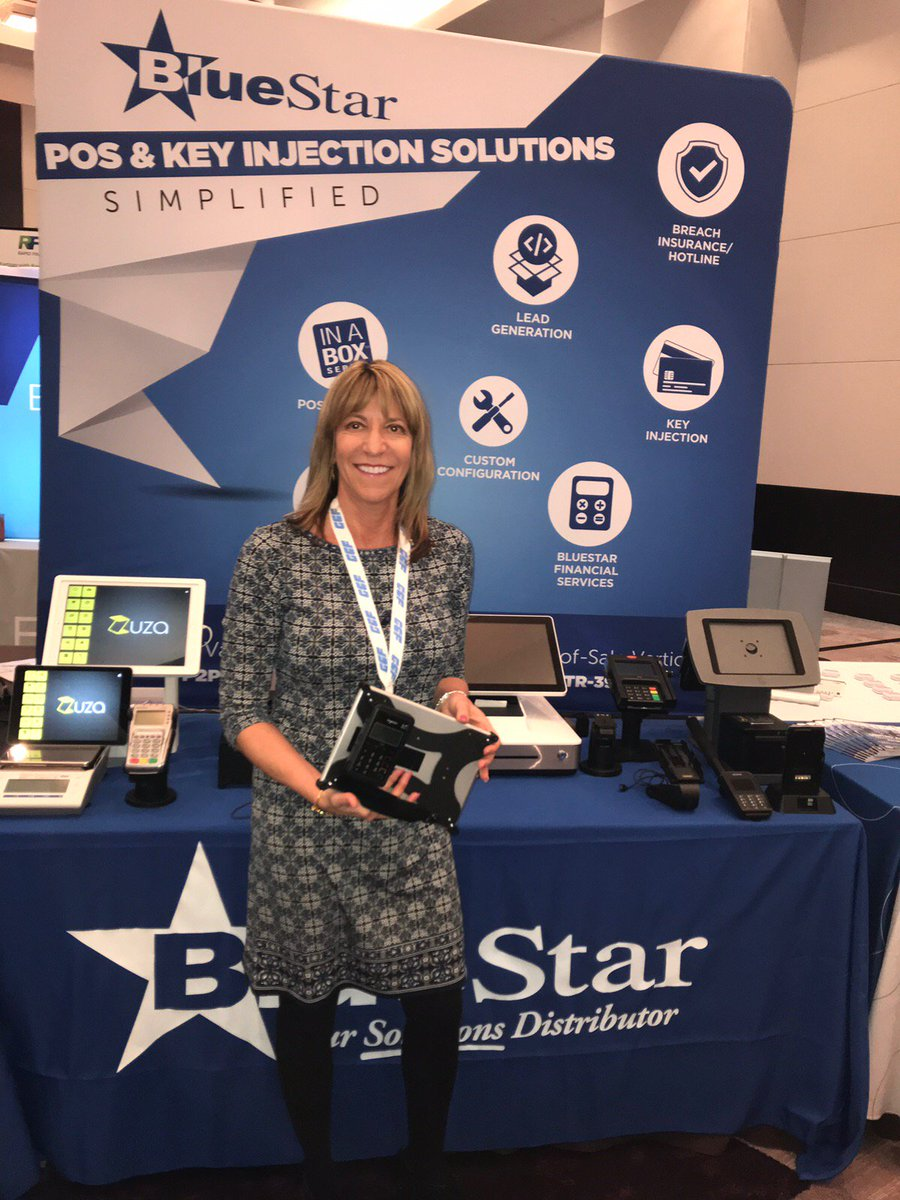 test Twitter Media - Day 2 at the @SEAcquirers show and we are having a great time with our partner @Think_BlueStar in booth #79. Visit with @MickiRiecke for innovative & ergonomically designed payment solutions that are designed to enhance the customer experience. https://t.co/hkGHKLDJ1u