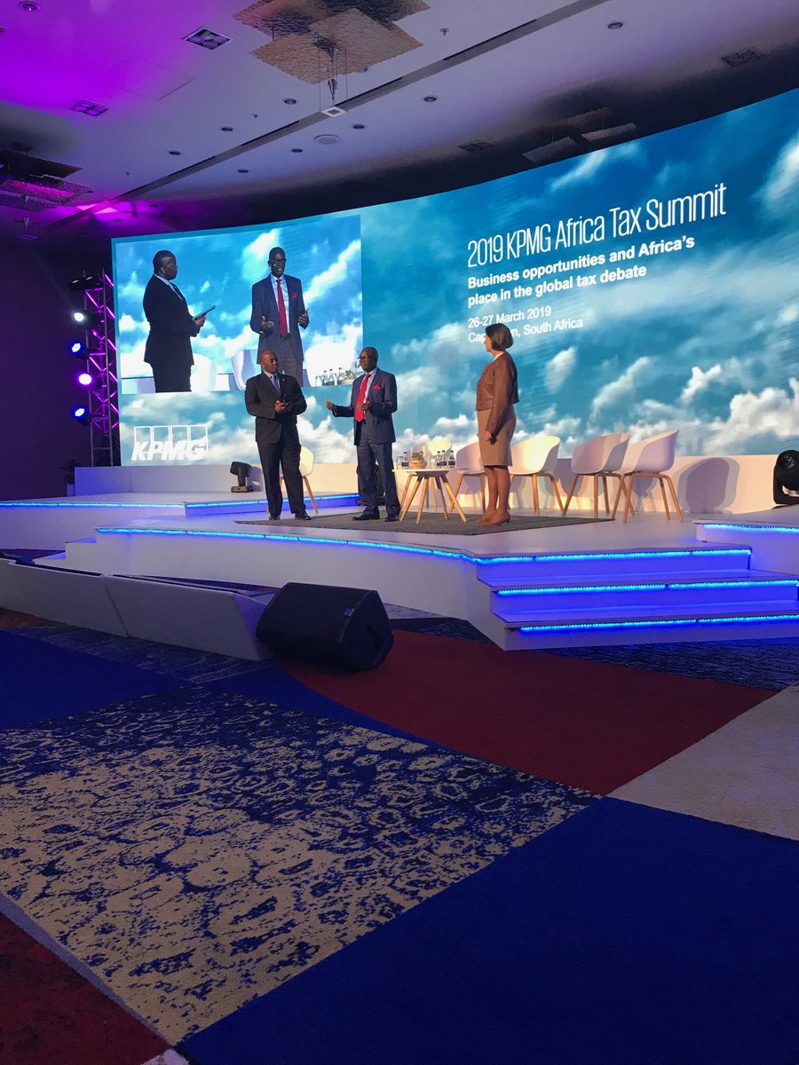 Wole Obayomi, KPMG's Head of Tax for the Africa region, and Jane McCormick, KPMG's Global Head of Tax, open up the first Plenary session at the 2019 #KPMGAfricaTaxSummit https://t.co/K4SGPHRGMm