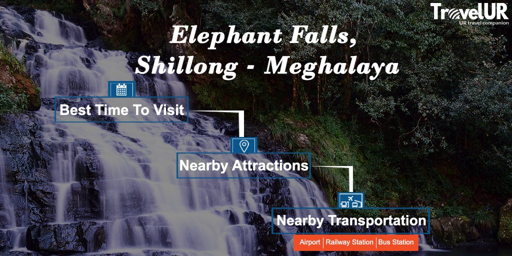 Waterfall - Go with the flow Roar with excitement let your cares fall away, Create your own music, Immerse yourself in nature, stay active, Make a Splash!  Join Elephant Falls Destination now & plan a trip - http://bit.ly/2uqAbPp  #waterfalls #elephantwaterfalls #bestwaterfalls