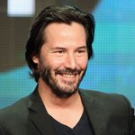 Image for the Tweet beginning: Actor #KeanuReeves hangs with fellow