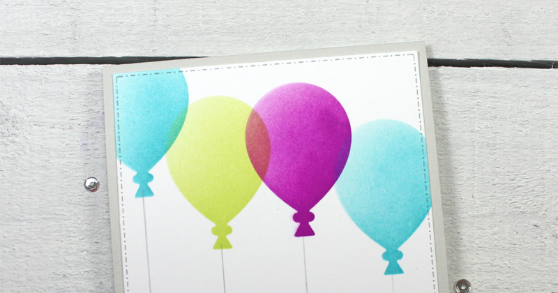 Stenciled Birthday Balloons http://dlvr.it/R1ZLjF