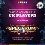 Image for the Tweet beginning: Spectrum by @WazdanGames is now
