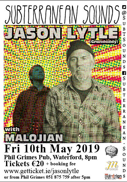 Still a few tickets left for this indie royal visit. Don't be left outside weeping. https://www.getticket.ie/jasonlytle/