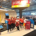 Image for the Tweet beginning: We're ready for take-off! ✈️💺#signprintexpo