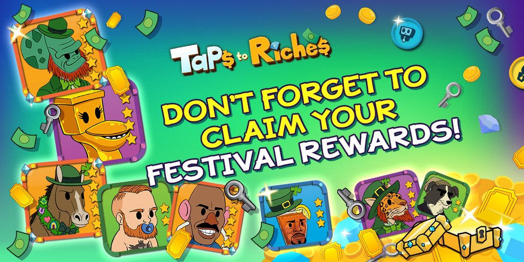 tap to riches hack 2018
