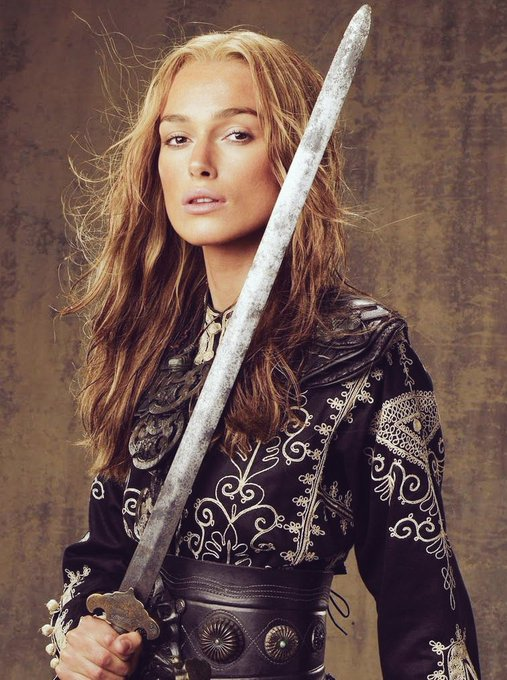 Happy Birthday to Keira Knightley who is our amazing Pirate King in Pirates of the Caribbean!