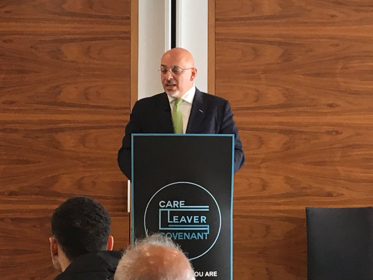 @CareLeaverCov event today with #TeamScape partner @Lendleaseuk.  Nadhim Zahawi MP gives his support. #ReadyWhenYouAre