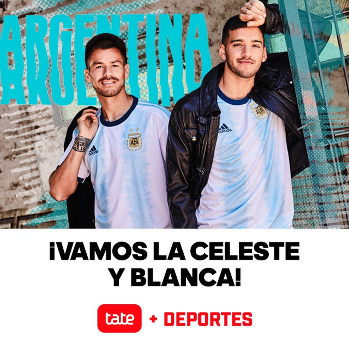 088bfd529  RecienLlegadoATate CAMISETA OFICIAL SELECCIÓN ARGENTINA LOCAL 2019  Diseñada para los hinchas y los momentos de