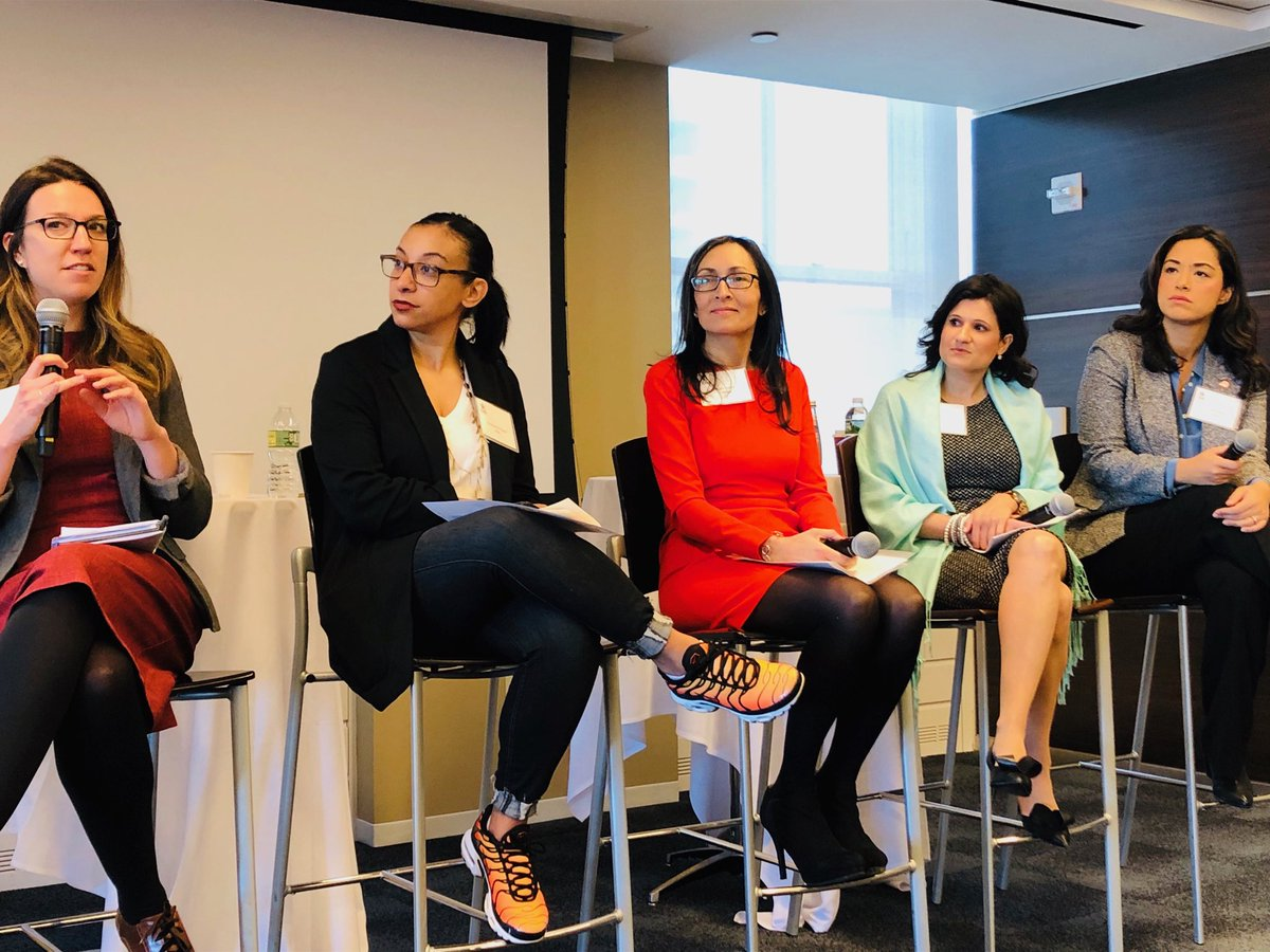 Excited for this power panel @RSF1970 @CarlinaRivera @deefalvo on #femaleleadership and #publicprivate partnerships committed to supporting young women in NYC #StarsCGI 