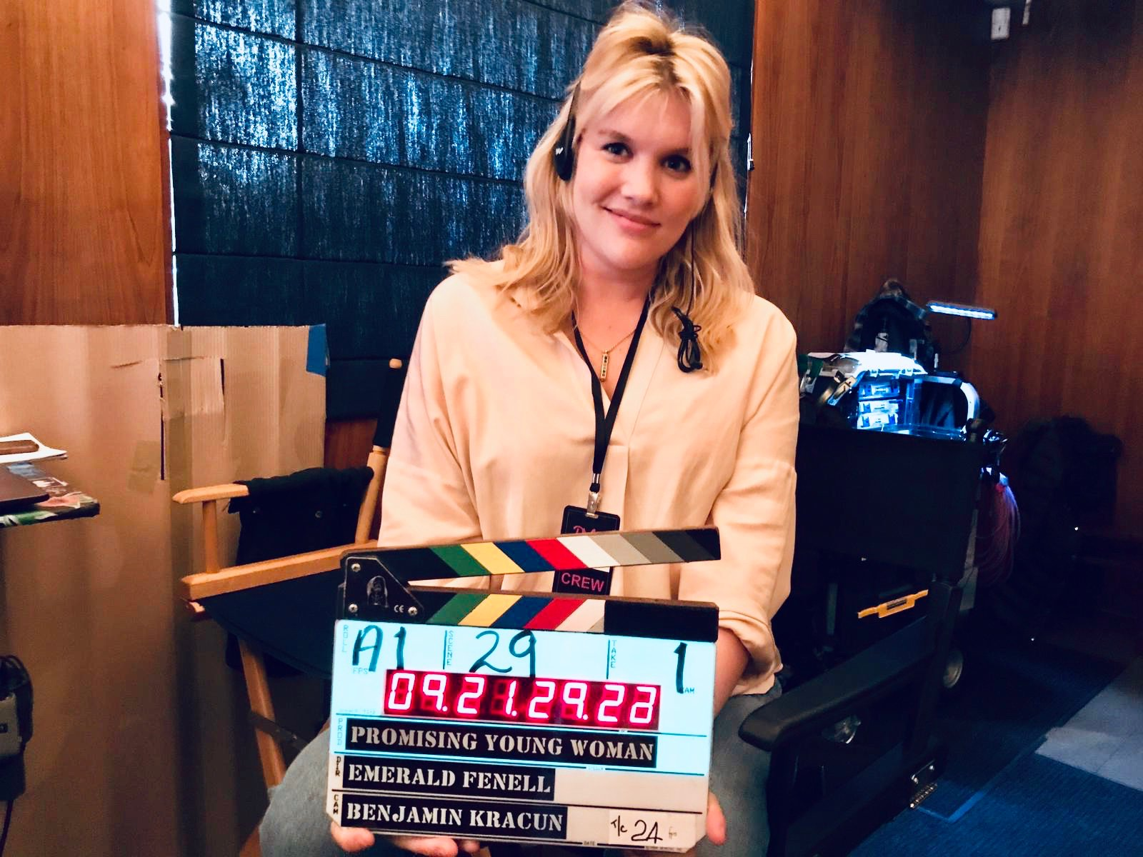 """Emerald Fennell on Twitter: """"Day 1 of """"Promising Young Woman""""!!!… """""""