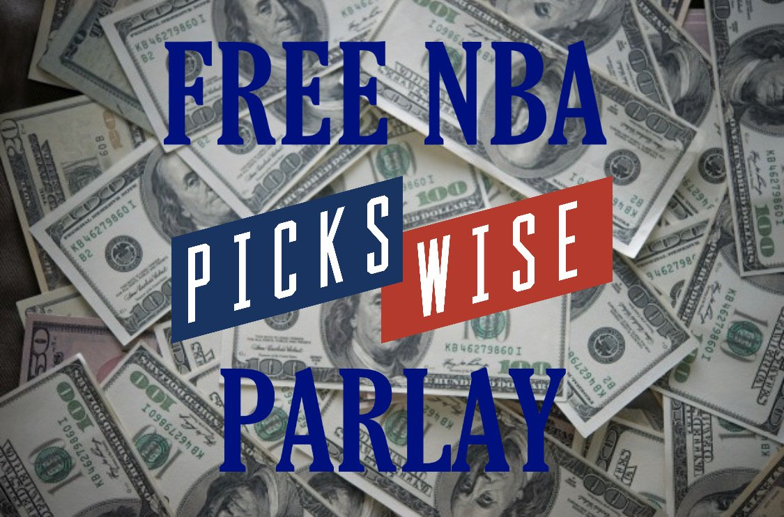 My 5 Game #NBA Parlay Is LIVE!   Winner Winner 👇👇  FREE PARLAY ➡️ http://pickswise.com/sports/nba