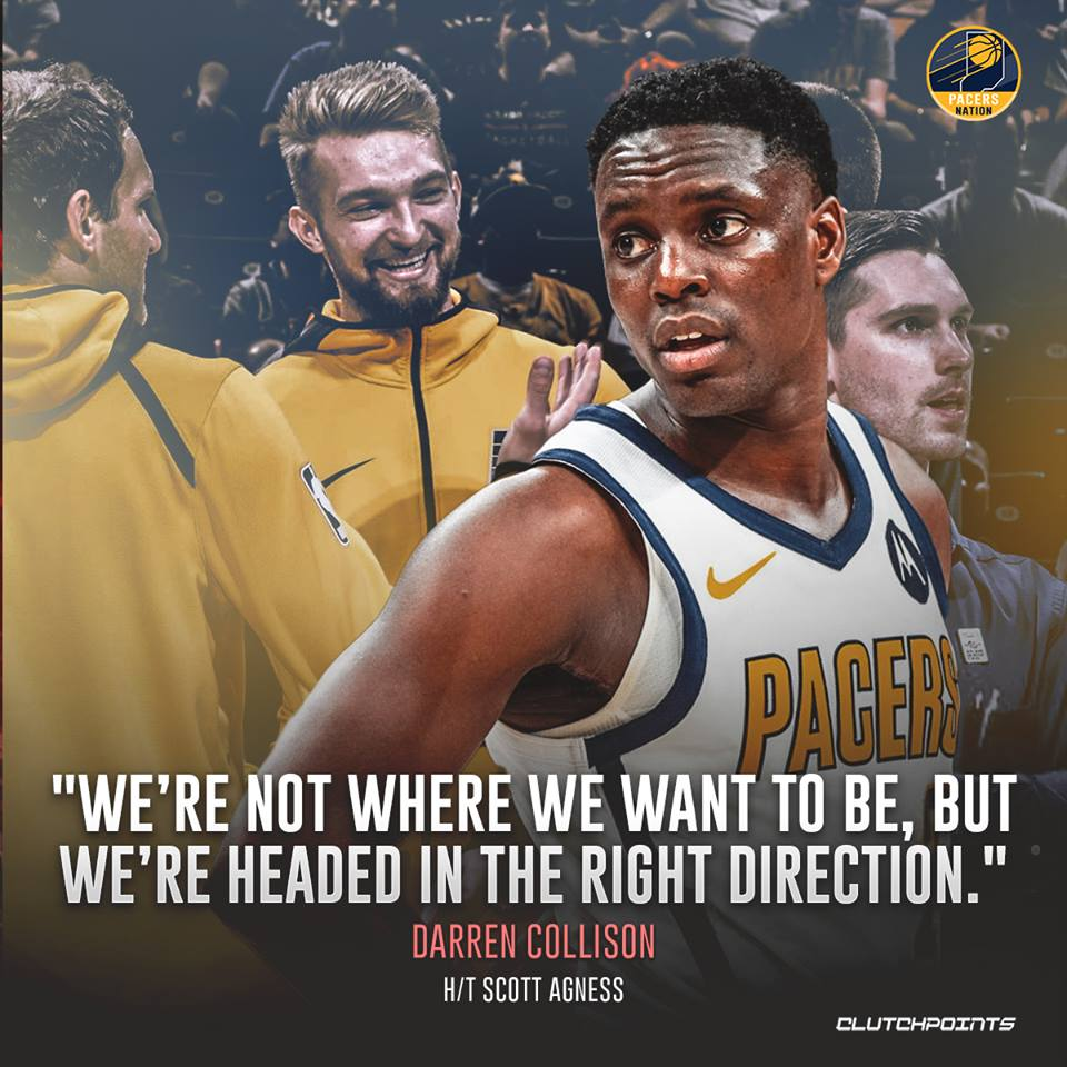 We're going to keep getting better 🙌  #Pacers