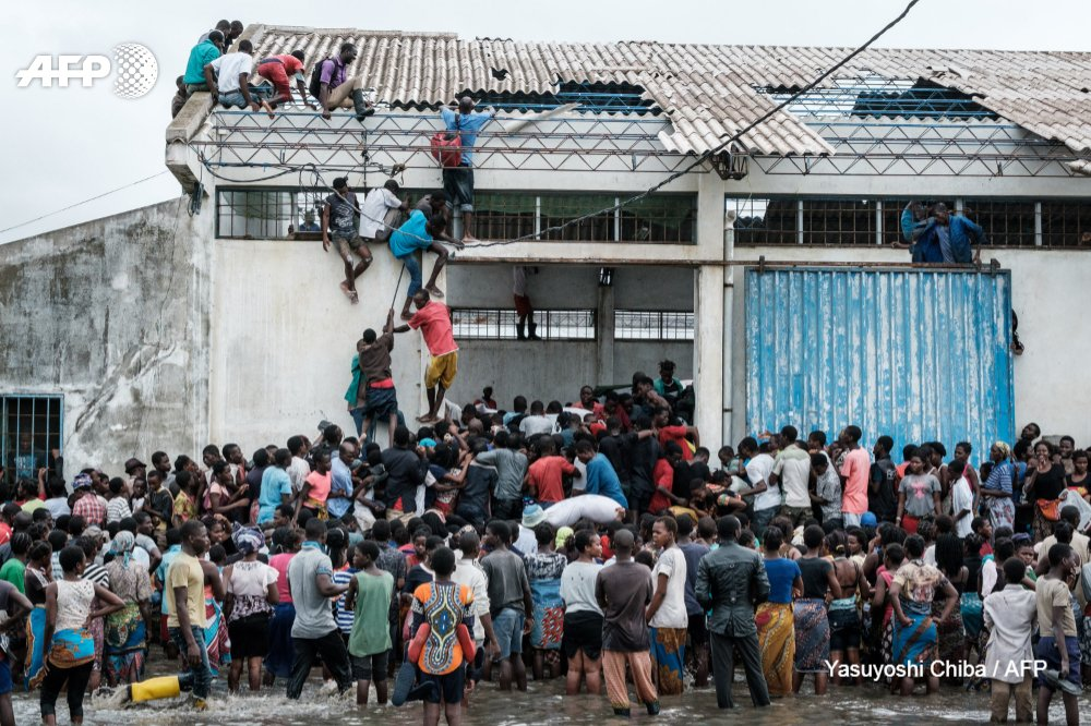 Survivors of that pummelled southern africa began receiving