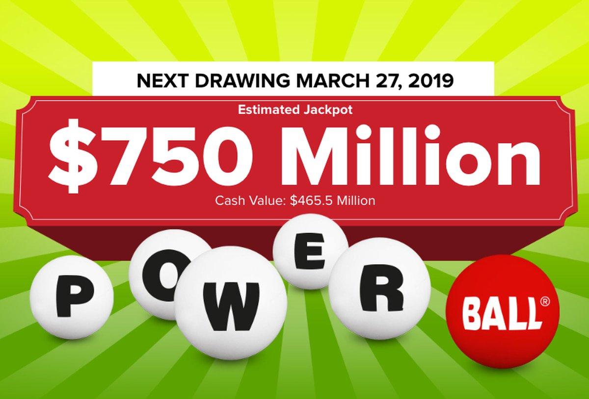 Powerball lottery at $750M: Ranking the luckiest states for Powerball jackpot winners. https://t.co/kjyhtF1RTf https://t.co/DPLsvzRPKo