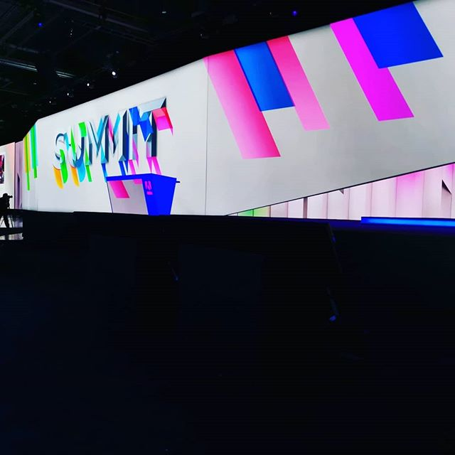Back at #AdobeSummit after a brief hiatus last year. Looking really good! https://t.co/7Qm84vAYz0