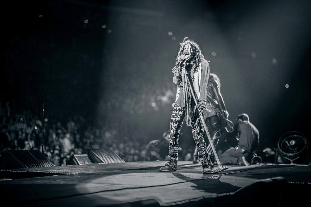 Hey everyone, walk this way and wish Steven Tyler a happy birthday.