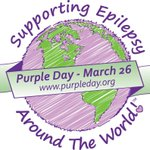 Image for the Tweet beginning: March 26th is Purple Day