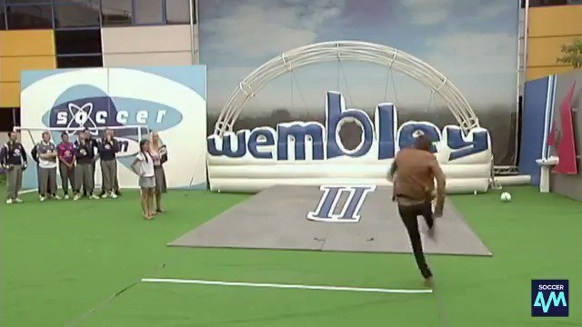 Still the greatest goal ever scored in the Soccer AM car park! 😍  Take a bow, Serge Pizzorno 👏