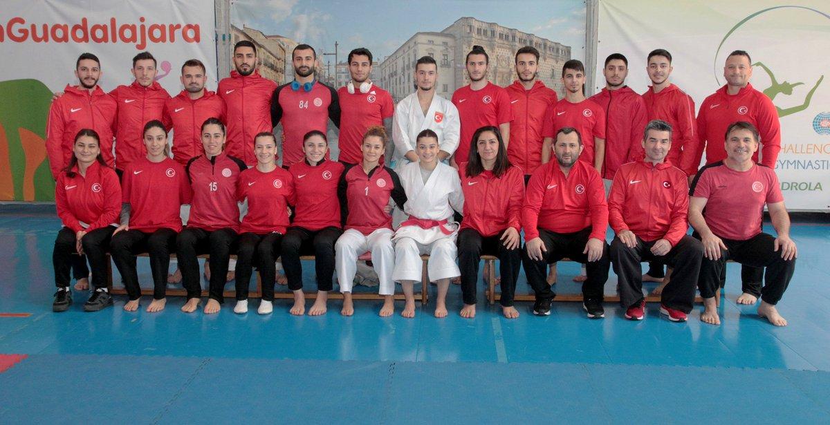 54. Büyükler Avrupa #Karate Şampiyonası 🥋  🗓️ 28-31 Mart 2019 📍 Guadalajara, İspanya 🇪🇸 🔗 http://www.karate.gov.tr 🏟️ Palacio Multiusos #⃣ #EuroKarate2019  #Karateturk 👊🇹🇷🇹🇷