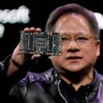 Image for the Tweet beginning: Nvidia CEO says no plans