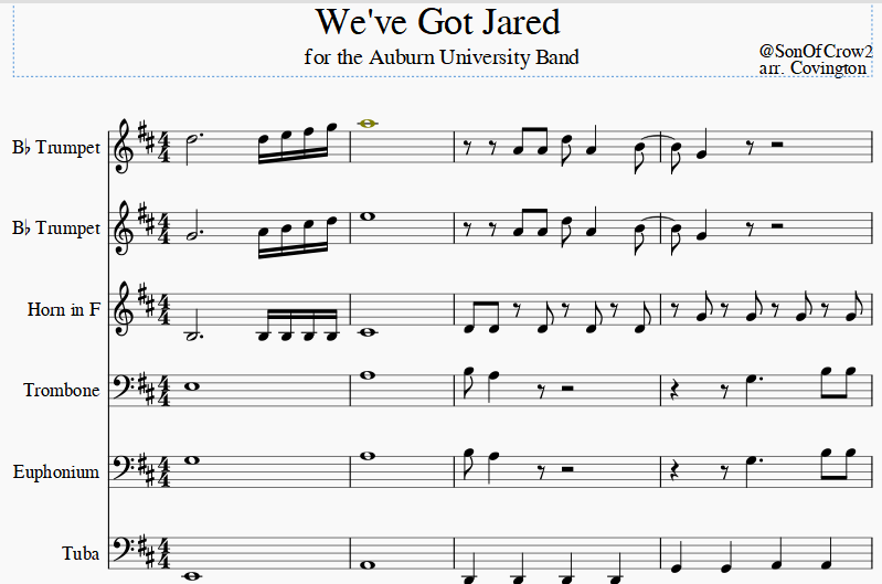 """We've Got Jared"""" Music Video - College and Magnolia"""