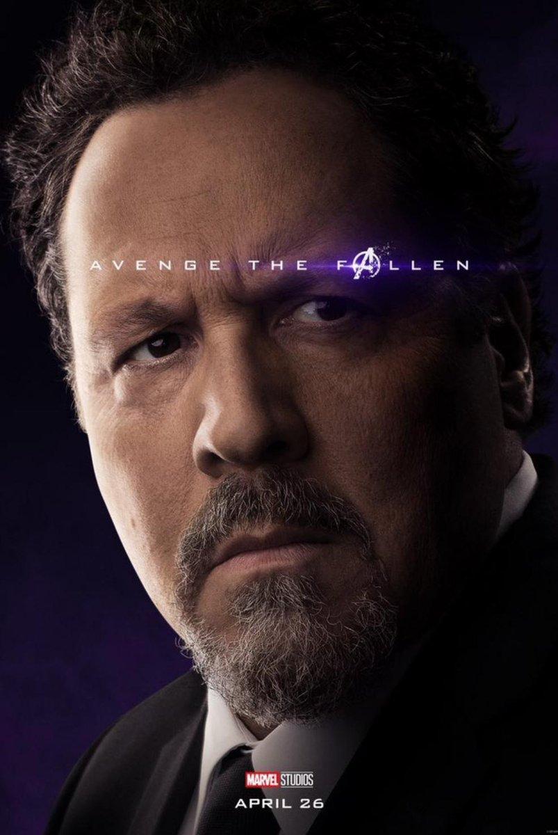 RT @JakeBaldino: The best Avengers Endgame character poster has been revealed https://t.co/SMaSUiRWRX