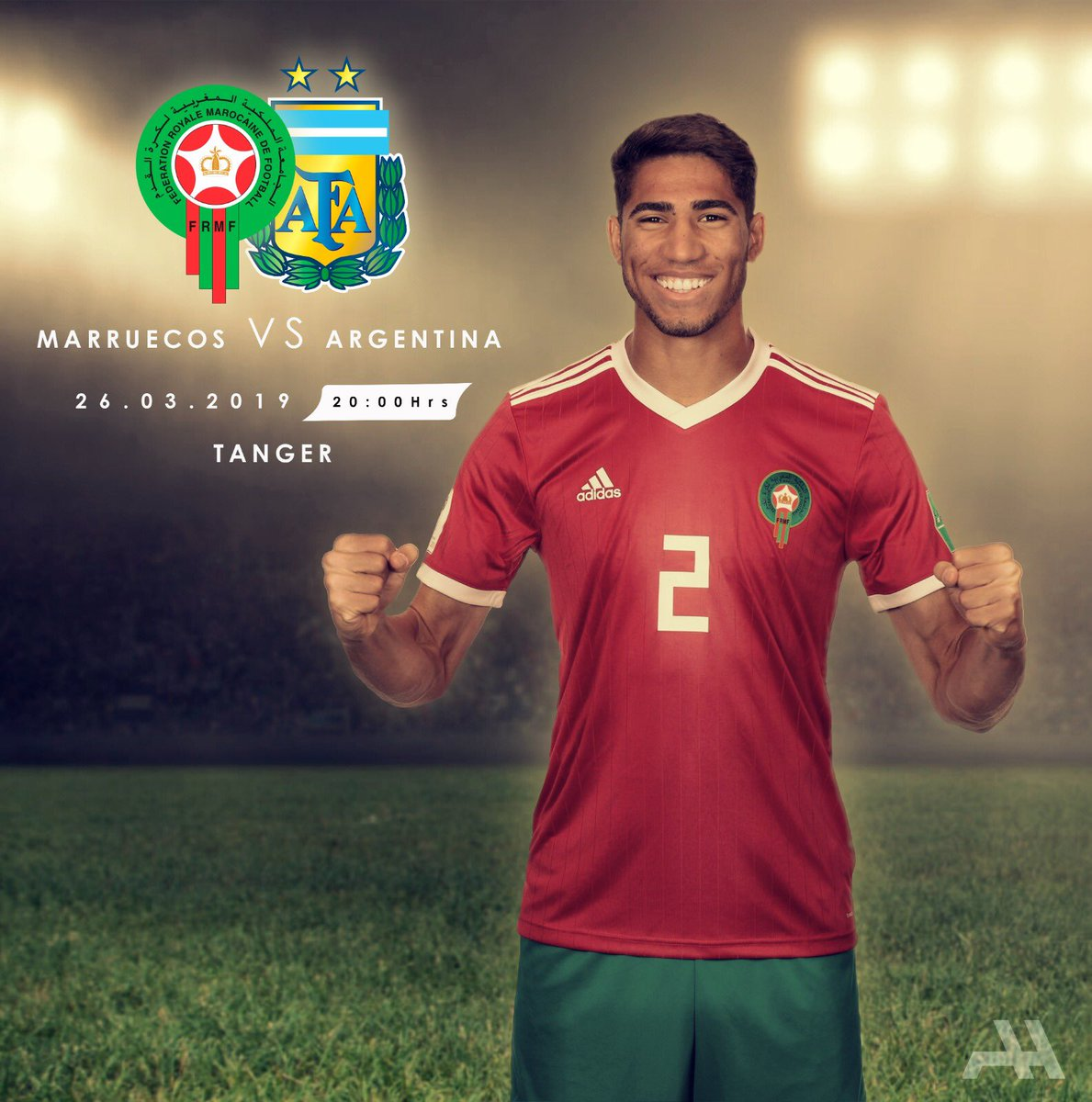 Achraf Hakimi's photo on #MARARG