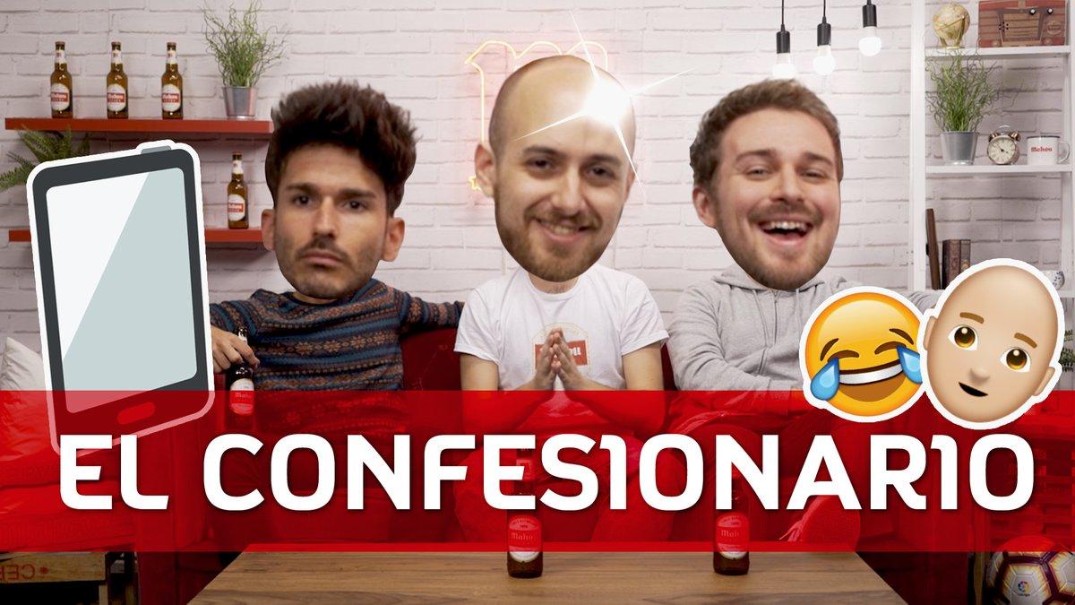 🤫¿Preparadxs para confesar vuestros secretos? 💥¡Vuelve el confesionario a #SaborAFútbol! ➡️http://bit.ly/2WkkQfd