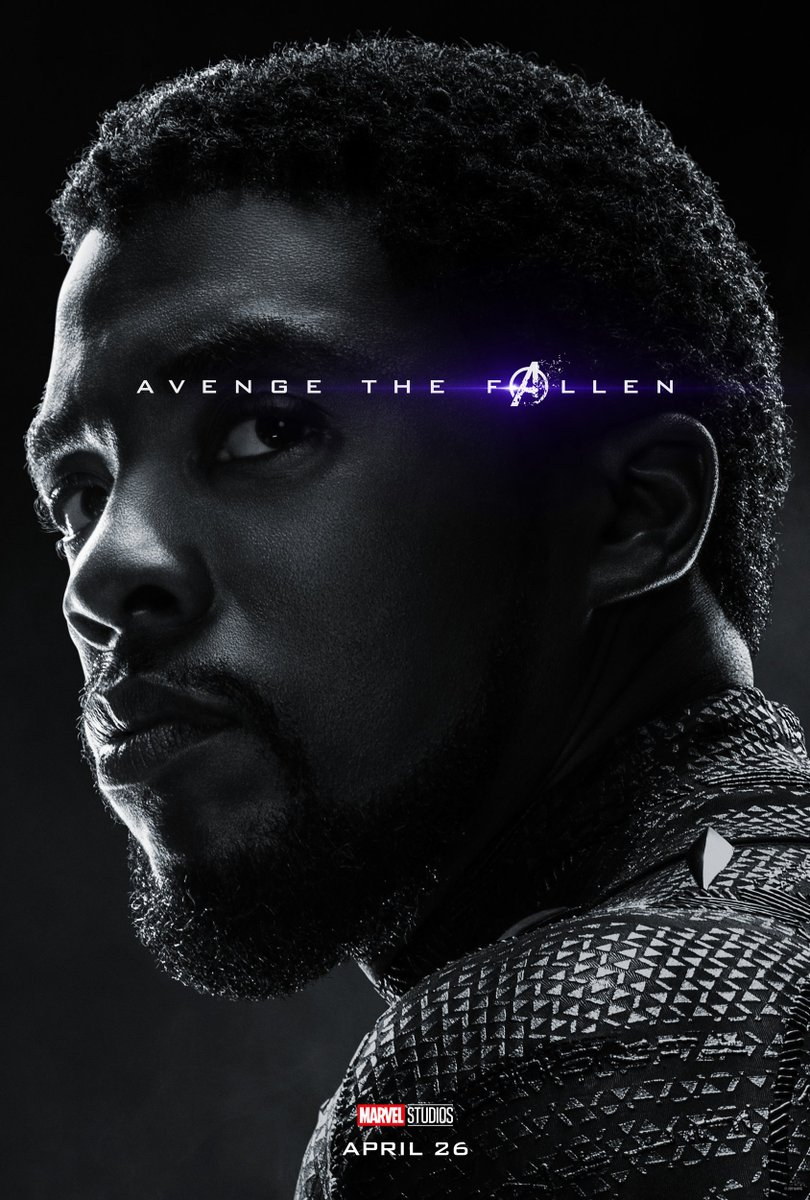 Avengers: Endgame Character Posters Unleashed 1