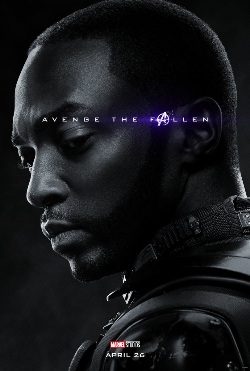 Avengers: Endgame Character Posters Unleashed 11