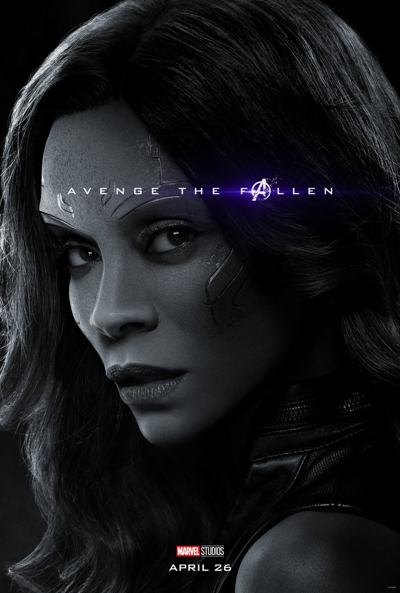 Avengers: Endgame Character Posters Unleashed 3